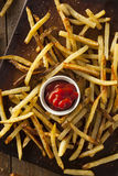 Homemade Oven Baked French Fries Royalty Free Stock Photography