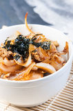Oyakudon on a bowl Royalty Free Stock Photos