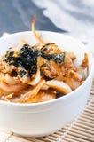 Oyakudon on a bowl Royalty Free Stock Photos