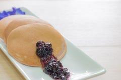 Homemade pancake Stock Images
