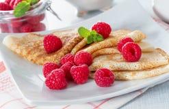 Homemade pancakes Royalty Free Stock Photo