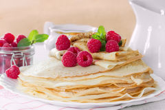 Homemade pancakes Royalty Free Stock Photography