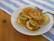 Homemade pancakes Royalty Free Stock Image