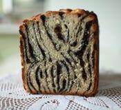 Homemade papaverous bread Royalty Free Stock Photos