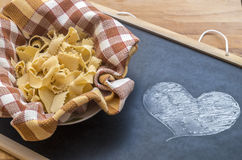Homemade pappardelle Royalty Free Stock Photo