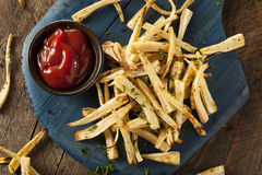 Homemade Parsley Root French Fries Royalty Free Stock Photos