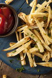 Homemade Parsley Root French Fries Royalty Free Stock Image