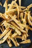 Homemade Parsley Root French Fries Royalty Free Stock Images