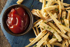 Homemade Parsley Root French Fries Royalty Free Stock Photo
