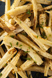 Homemade Parsley Root French Fries Royalty Free Stock Photography