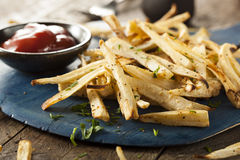 Homemade Parsley Root French Fries Stock Images