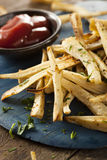 Homemade Parsley Root French Fries Stock Photo