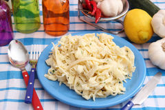 Homemade pasta Royalty Free Stock Image
