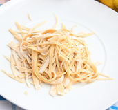 Homemade pasta Royalty Free Stock Photo