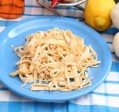 Homemade pasta Royalty Free Stock Photos