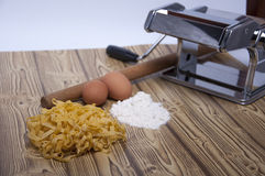 Homemade pasta Royalty Free Stock Images