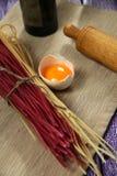 Homemade pasta Stock Image