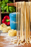 Homemade pasta. Stock Photo
