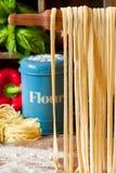 Homemade pasta. Stock Photos
