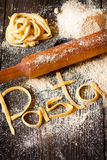 Homemade pasta. Royalty Free Stock Image