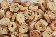Homemade pasta Stock Photography
