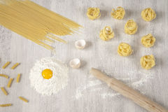 Homemade pasta Royalty Free Stock Photography
