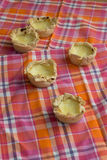Homemade Pasteis de nata, portugal dessert Stock Photography