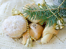 Homemade pastries Royalty Free Stock Images