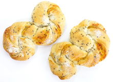 Homemade pastry filled with cheese and sesame Stock Photo