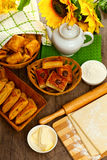 Homemade pastry puff pastry Stock Image