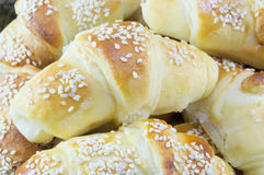Homemade pastry with sesame Royalty Free Stock Photos