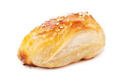 Homemade pasty with sesame Royalty Free Stock Image