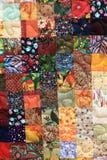 Homemade patchwork Stock Photos