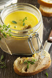 Homemade pate chicken liver Stock Photography