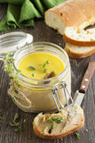 Homemade pate chicken liver Stock Image