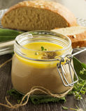 Homemade pate chicken liver Royalty Free Stock Photo