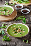 Homemade Pea Soup Royalty Free Stock Image