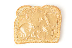 Homemade Peanut Butter and Jelly Sandwich Stock Image