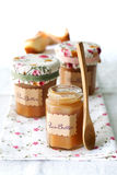 Homemade pear butter Stock Photos