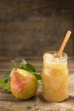 Homemade Pear Jam Stock Photo