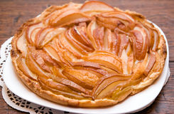 Homemade pear pie Royalty Free Stock Photography