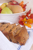 Homemade pear spiced bread Stock Images