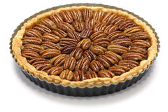 Homemade pecan pie Royalty Free Stock Photography