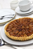Homemade pecan pie Royalty Free Stock Photography