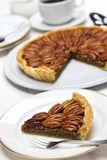 Homemade pecan pie Royalty Free Stock Image