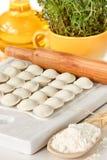 Homemade pelmeni. Stock Photography