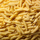 Homemade penne for carbohydrates Stock Image