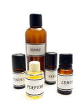 Homemade perfume Stock Images