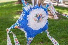 Homemade piñata Stock Image