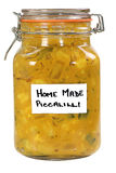 Homemade piccalilli Royalty Free Stock Image